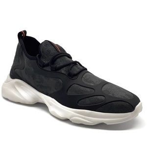 French Connection Grey Moulin Athletic Mesh Shoes